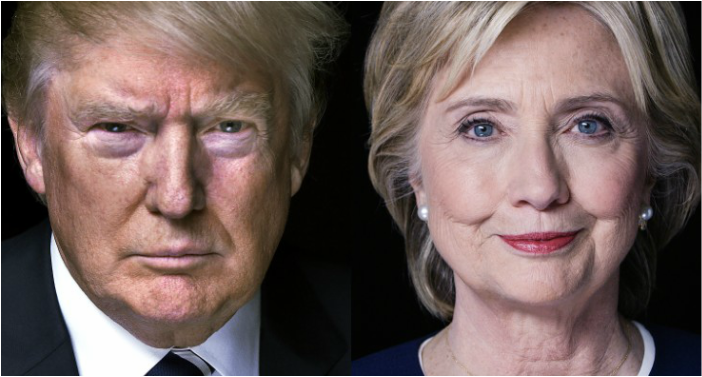 2016 Election Trump vs Hillary